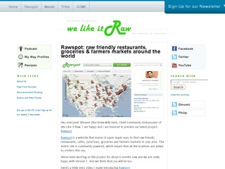 Raw Food Websites